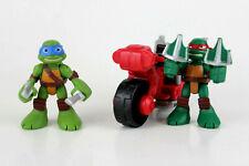 Teenage Mutant Ninja Turtles Half Shell Heroes Leo Raph Minibike  Free Ship