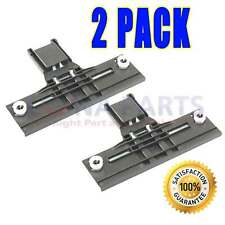 2 PACK W10712394 DISHWASHER UPPER TOP RACK ADJUSTER FITS KENMORE KITCHENAID