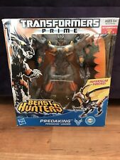 Predaking Transformers Prime Beast Hunters INFERNUM SWORD Rare Hasbro Voyager