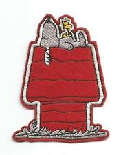 Snoopy on Dog House Character Cloth Patch - Sew-on / Iron-on Patch