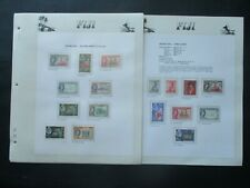 ESTATE: Fiji Collection on Pages, Great Item! (p2783)
