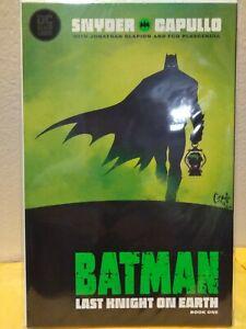 Batman The Last Knight On Earth 1, 2019 Third Print 9.6 NM+