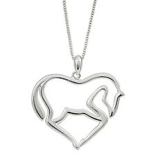 New Animal Horse Zinc Alloy Link Chain Pendant Necklace for Men or Women Nice
