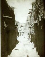 TUNISIE Tozeur Maghreb, Photo Stereo Vintage Plaque Verre VR4L1n4