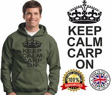 Carp Fishing Hoodie Carping Hoody Quality Brands Keep Calm Carp On