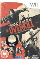 La casa de los muertos: Overkill Nintendo Wii 18+ juego de acción