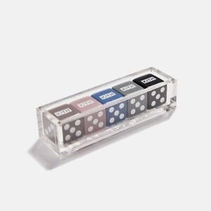 Kith Playing Dice Set of 5 Gifting Collection FW19 Sold Out Rare Super Limited