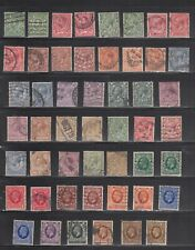 Great Britain Selection of Older Stamps