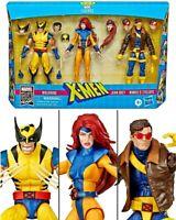 """Marvel Legends 3 Pack X-Men Jean Grey, Cyclops & Wolverine 6"""" IN STOCK!"""