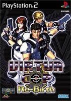 USED PS2 Virtua Cop ReBirth COP Re-Birth 30199 JAPAN IMPORT