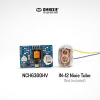 NCH6300HV DC-DC Boost Power Converter for Vacuum Nixie Tubes replace NCH6100HV