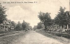 Park Avenue East of Grove Street in East Orange NJ 1914