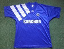 FC Schalke 04 Trikot XL 94/95 Adidas Shirt Jersey Kärcher