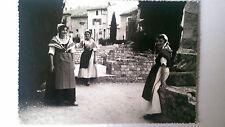 Vintage French B&W Postcard c1938 Costumes de Provence Comtadines
