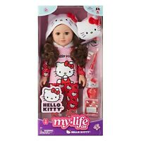 "New 2020 My Life As 18€"" Poseable Hello Kitty Doll  Brunette Hair"