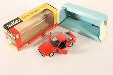 Solido 183, ALFA ROMEO ZAGATO, Mint in Box #ab756