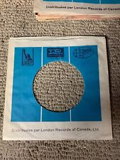 sleeve only IR IMPERIAL WORLD PACIFIC LIBERTY records  45 record company sleeve