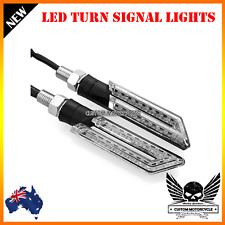 2x Motorcycle LED Turn Signal Indicator Light Kawasaki Ninja 300R Z800 Z1000 14