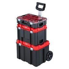 Black Plastic Wheeled Lockable Tool Box CRAFTSMAN VERSASTACK System 21-in-Drawer