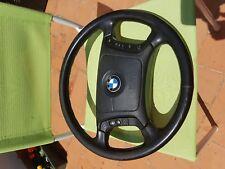 BMW original steering wheel E39 E38 multifunction leather 5 7 series airbag