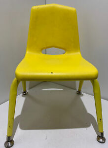 """10"""" School Chair Distance Learning Virtual Yellow 1st Grade Pandemic Home School"""