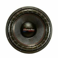 "American Bass Godfather GF1822 18"" 400 Oz Magnet 4"" Voice Coil Dual 2 Ohm SPL"