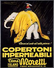 WHITE ELEPHANT RIDE COPERTONI MILAN ITALY 8X10 VINTAGE POSTER REPRO FREE S/H