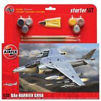 AIRFIX® 1:72 BAE HARRIER GR9A MODEL AIRCRAFT KIT LARGE STARTER SET MODEL  A55300
