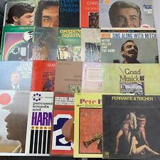 Lot of 20 Records Vinyl LPs Classical Easy Listening Jazz Christmas Pop