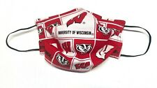Wisconsin Badgers Fabric Face Mask