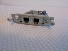 CISCO VIC-2FXS VOICE MODULE CCNA, CCNP  lab card