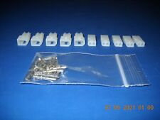 2 Pin Molex Connector Kit 5 Sets With18 24 Awg 062 Pins Free Hanging 0062