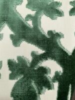1 pc- Scalamandre fabrics  - FALK MANOR HOUSE- Cut & UnCut Velvet- Color Spinach