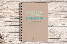 """""""My great Organizer"""" Jahresplaner mit 52 Wochen DIN A5 Kalender Organizer"""