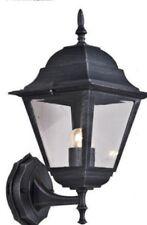 LANTERNA LAMPADA APPLIQUE NEW YORK CON BRACCIO NERO GHISA CM. 41H.