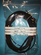 Norton WD 16H 490cc Side Valve Wiring Wire Loom Harness 1941 to 1944 only