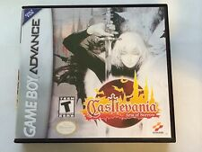 Castlevania Aria of Sorrow - GBA - Replacement Case - No Game