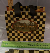 Mackenzie Childs Extra-Small Bag From Palm Beach With Tissue