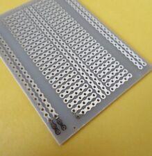 5cm X 5cm sola cara UNIVERSAL PCB placa de circuito impreso Azul Hazlo tú mismo 12 un