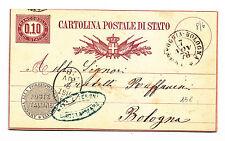 Y17-AMBULANTE-FOGGIA/BOLOGNA SU C.P. 10 CENT