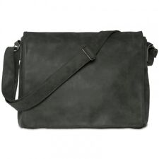 CASPAR TS1012 Vintage Messenger Shoulder Cross Body Bag Large Notebook A4 13''