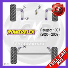 Peugeot 1007 (2005 - 2009) Powerflex Komplett Bush Set