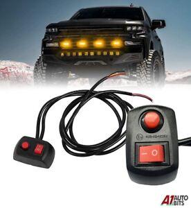 Switch Box 12V 24V Lightbar Beacons Flashing LED Strobes Lights Recovery Truck