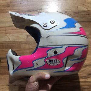 Vintage Bell Troy Lee Designs Motorcycle Helmet Answer 60 61 62