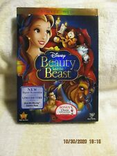 DVD Walt Disney Beauty and the Beast, 2010, 2-Disc Set,