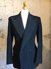 Arc 7 Vintage Size 38 1940's cc41 double breasted dinner suit DJ