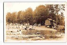 jwf29f: PICNIC GROUNDS ASBURY NJ, Vintage RPPC/postcard