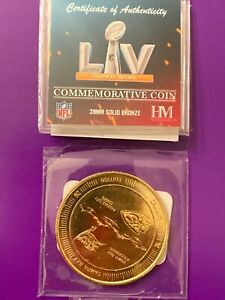 Super Bowl LV 55 Official Highland Mint Flip Coin Chiefs Buccaneers Tampa brady