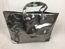 BRAND NEW  DKNY Be Delicious Silver Tote Bag wide