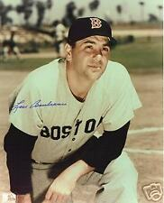 LOU BOUDREAU BOSTON RED SOX INDIANS HALL OF FAME AUTOGRAPHED 8 X 10 PHOTO JSA